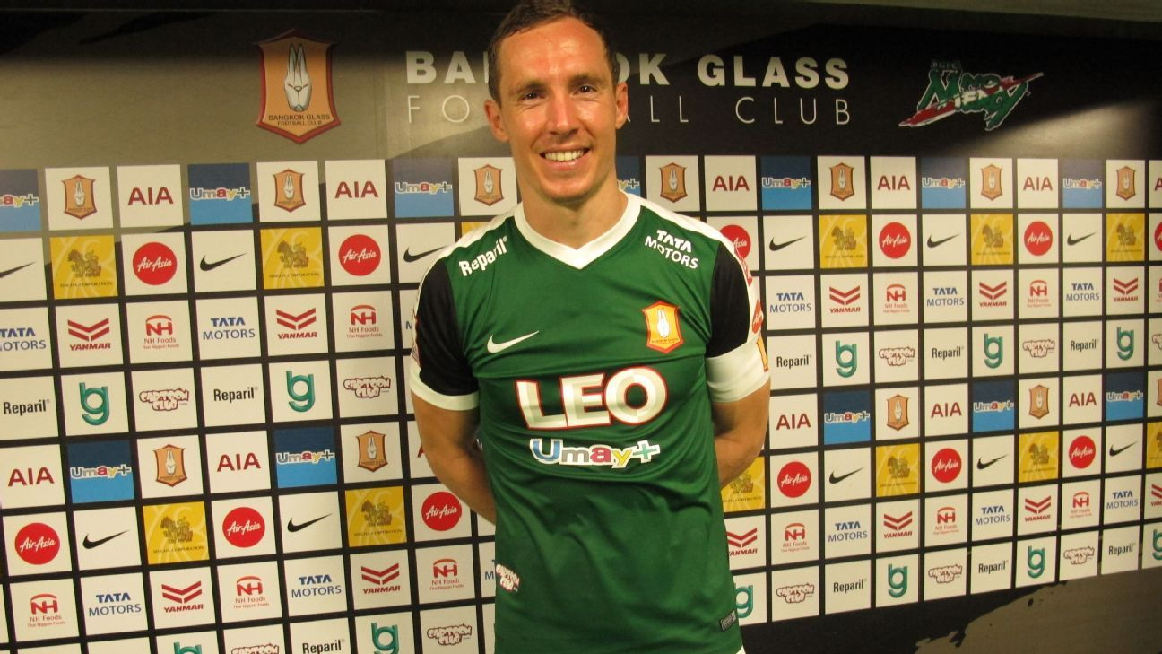 Bangkok Glass captain Matt Smith
