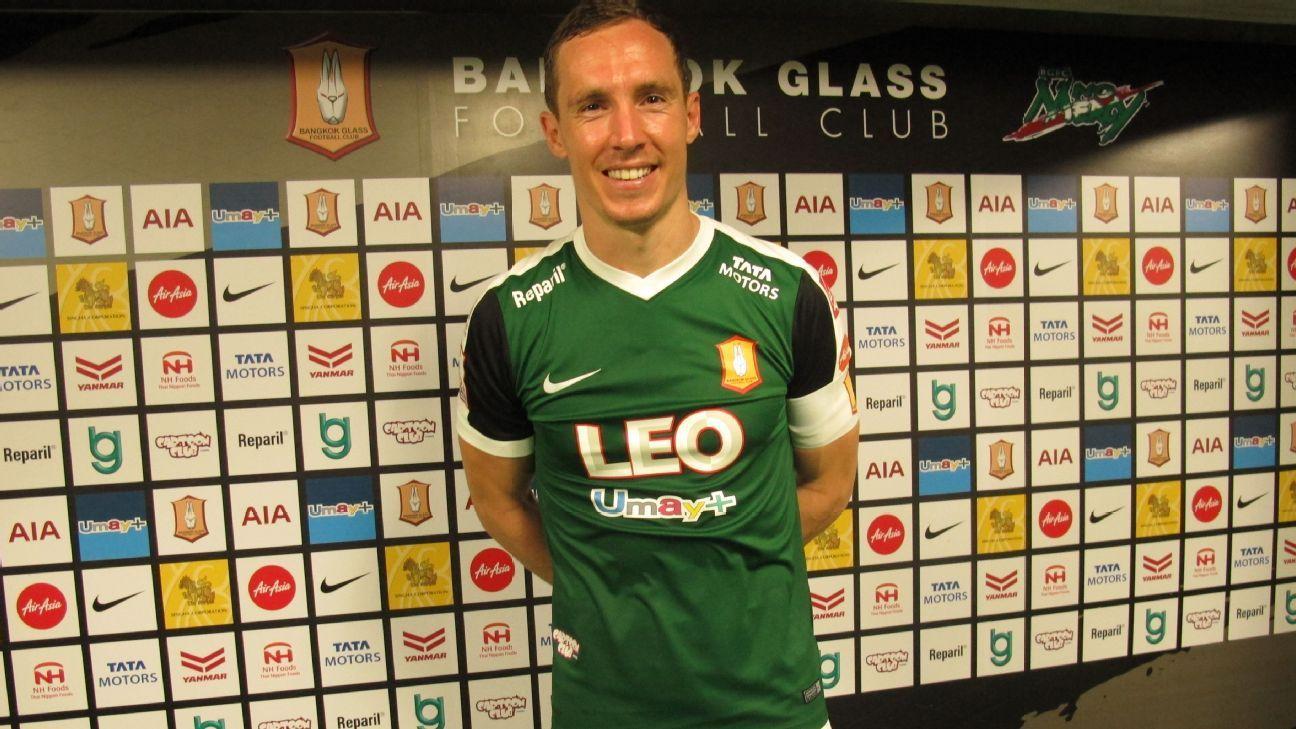 Bangkok Glass captain Matt Smith