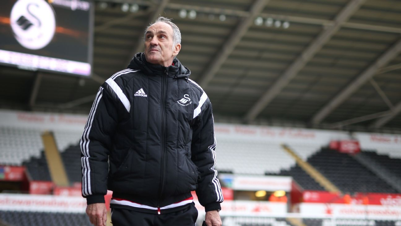 Swansea manager Francesco Guidolin