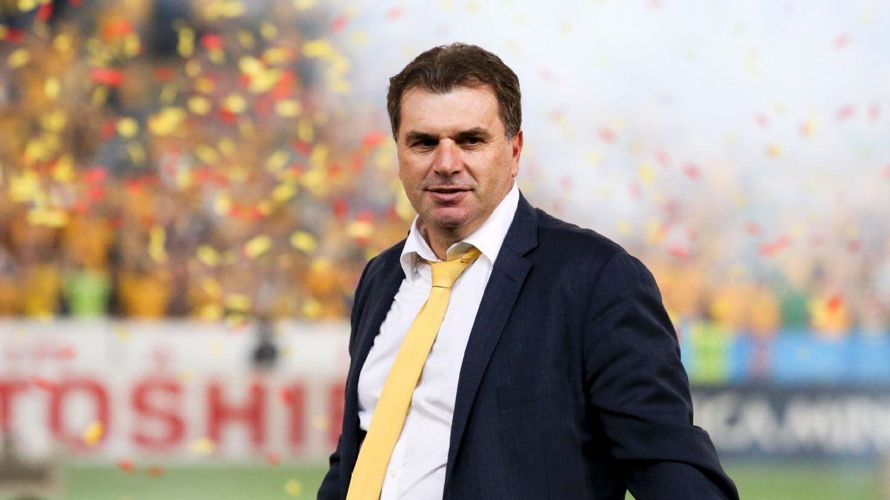 Ange Postecoglou at Asian Cup