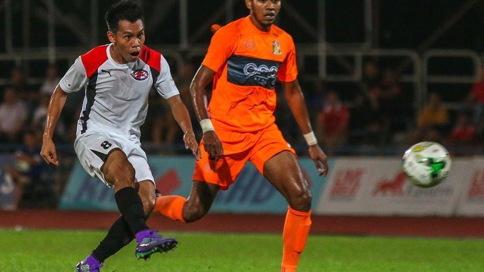 Home United midfielder Azhar Sairudin
