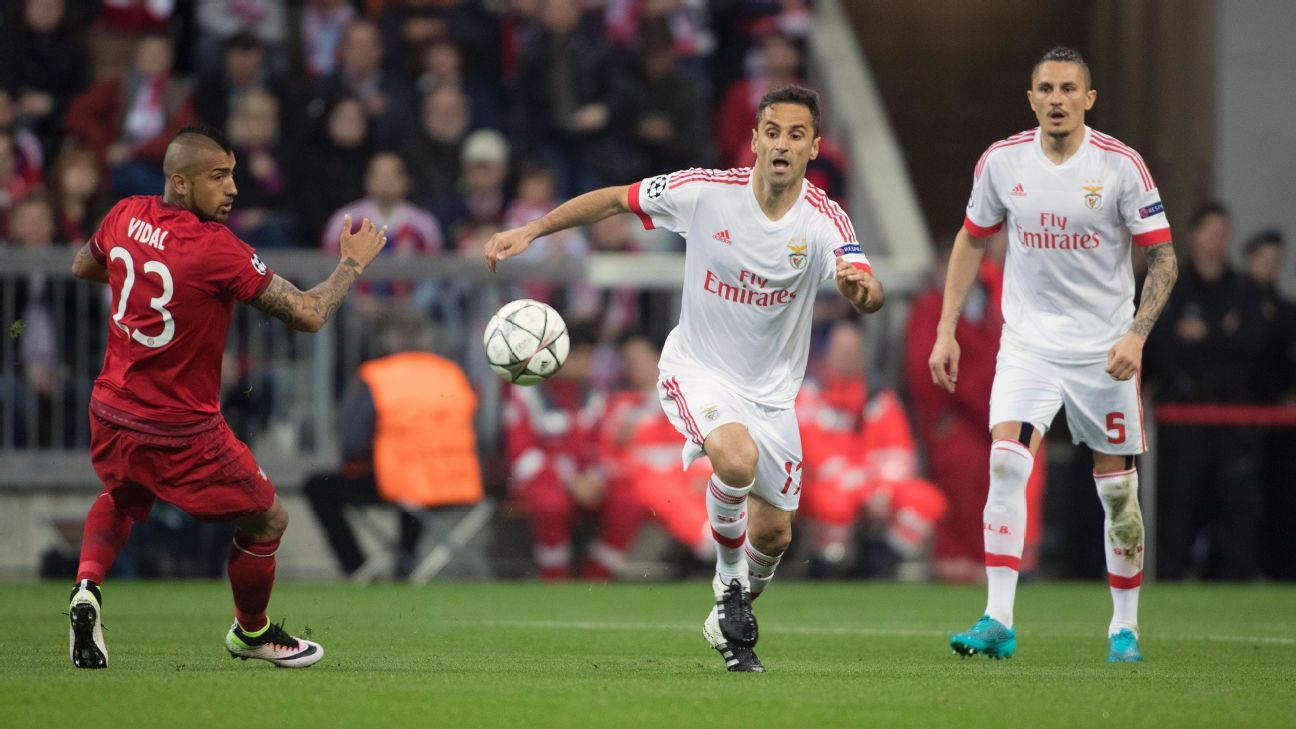 Benfica focused on defence UCL second leg vs Bayern Munich