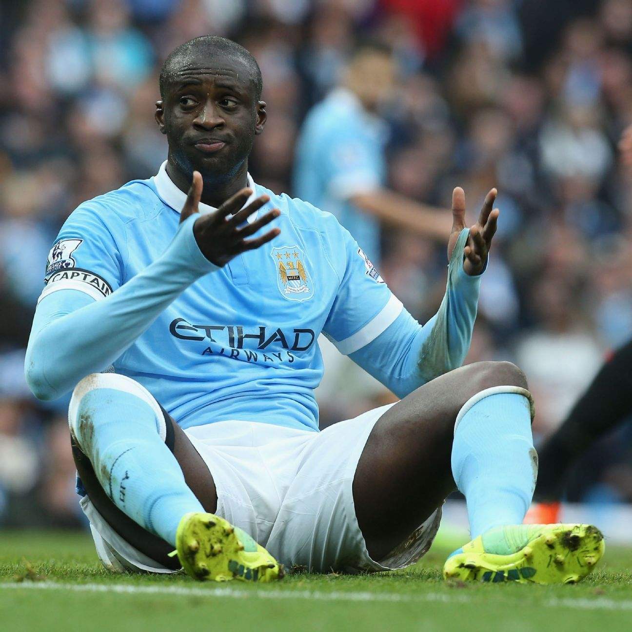 Manchester City midfielder Yaya Toure charged with drink driving