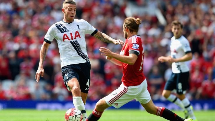 Toby Alderweireld v Daley Blind