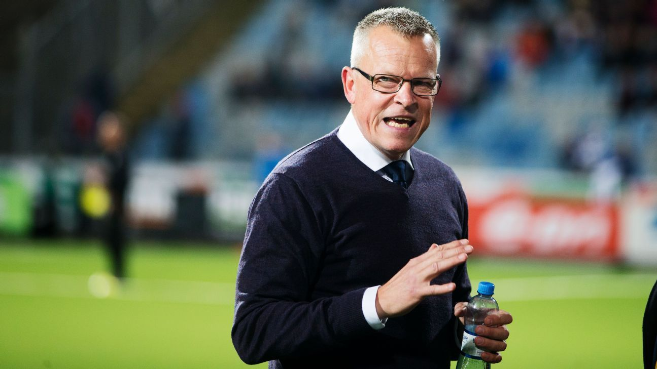 IFK Norrkoping coach Janne Andersson