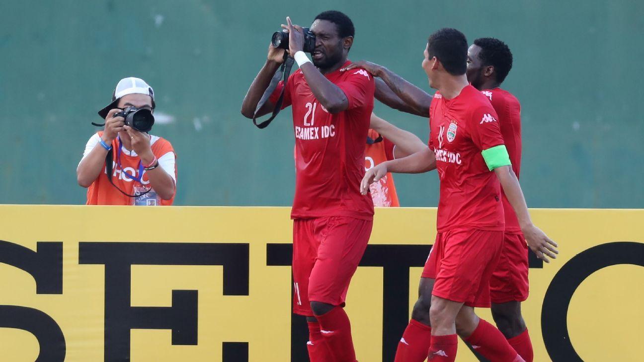 Becamex Binh Duong striker Christian Amougo