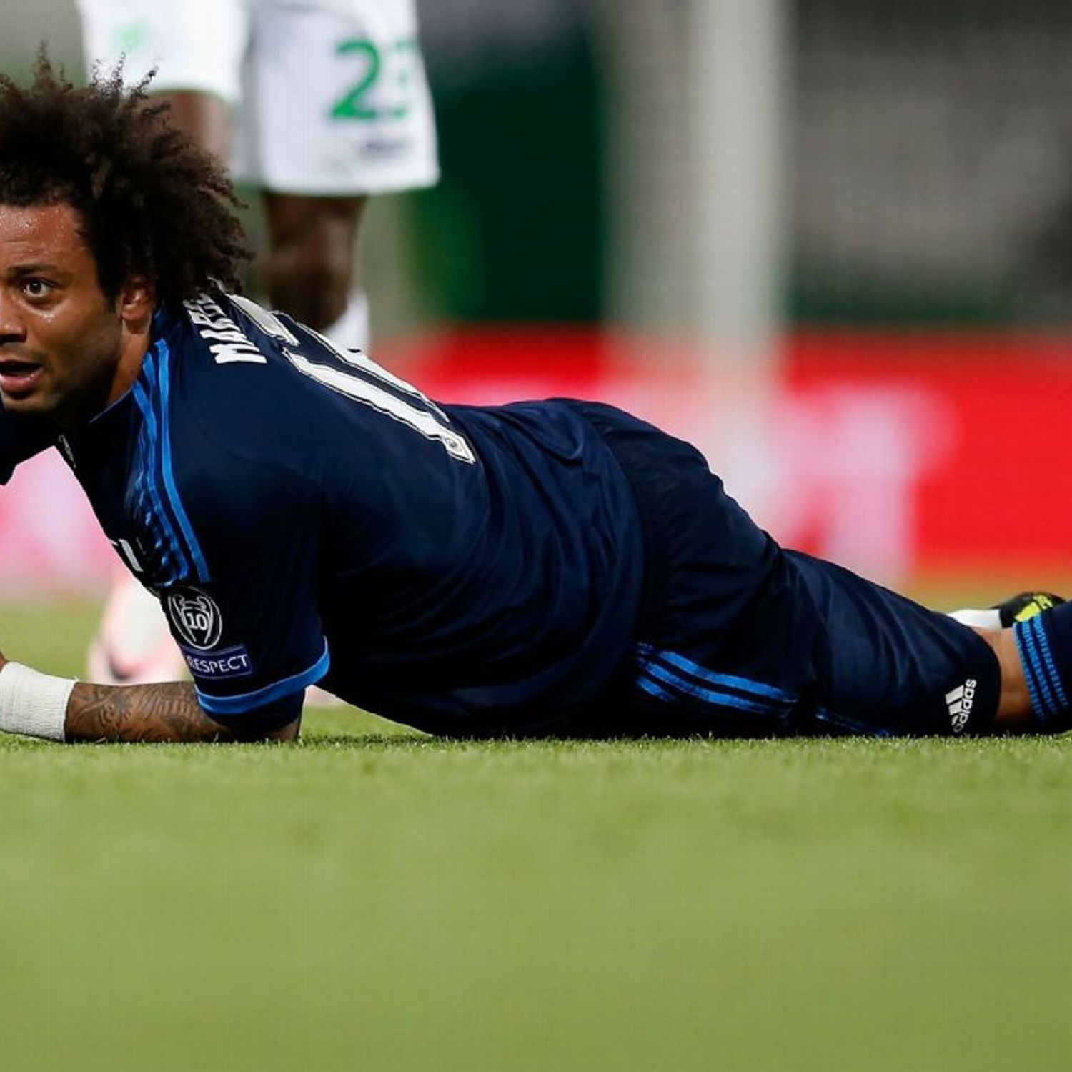 Real Madrid's Marcelo Criticised By Wolfsburg Coach
