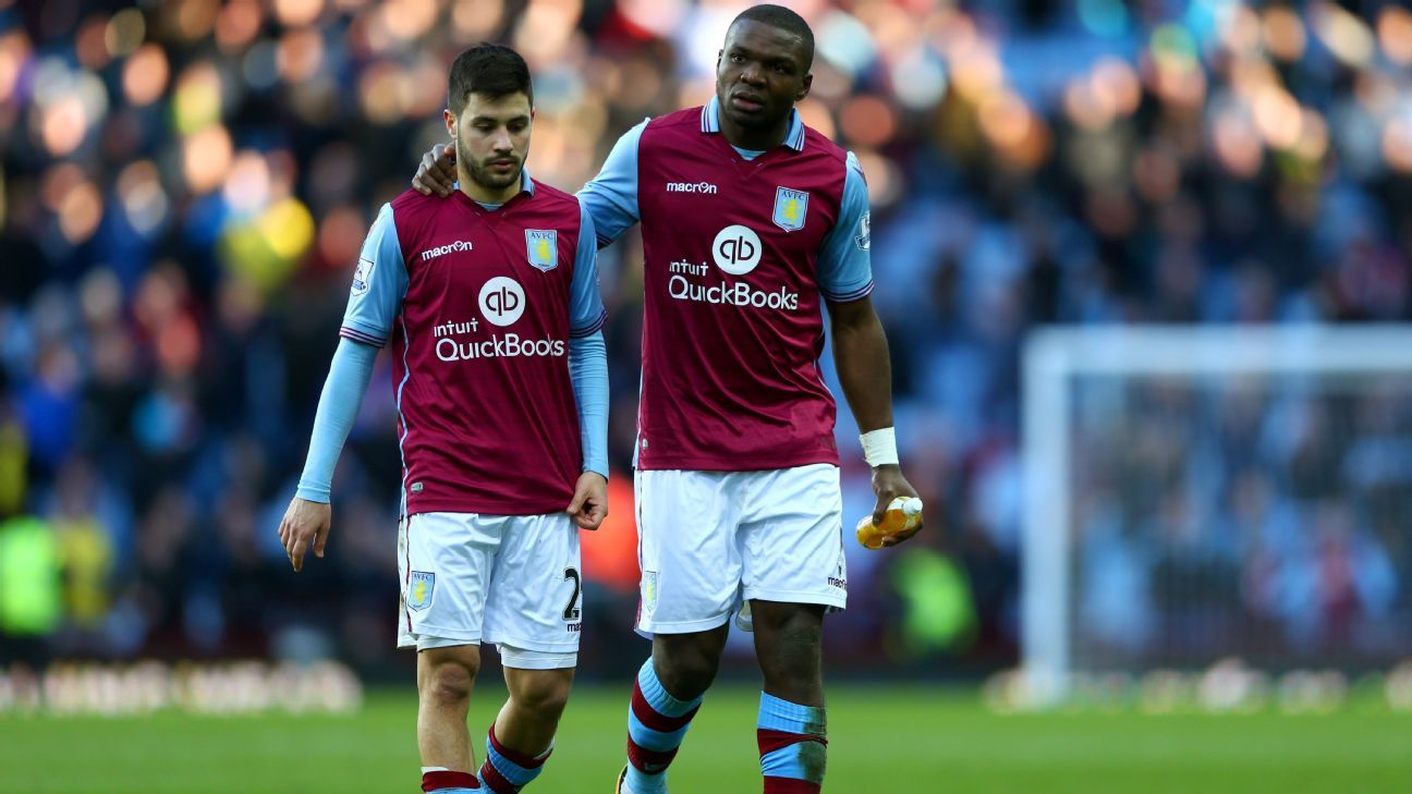 Aston Villa sad