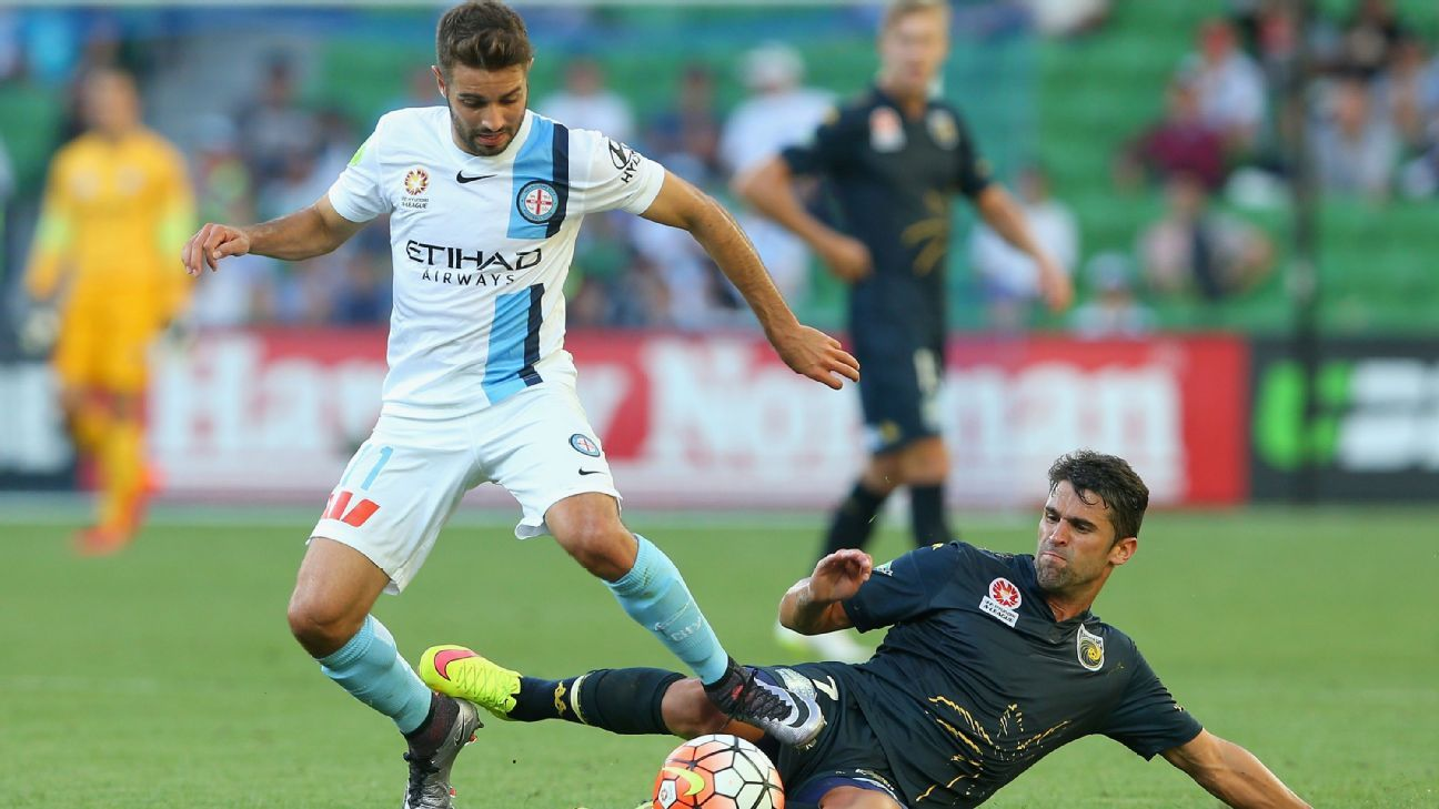 Melbourne City defender Michael Zullo