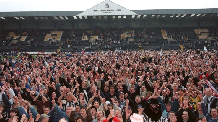Notts County stadium fans 160408