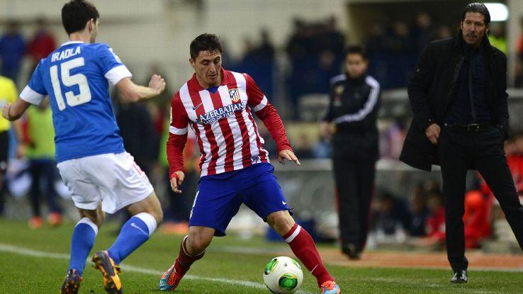 Atletico Madrid winger Cristian Rodriguez