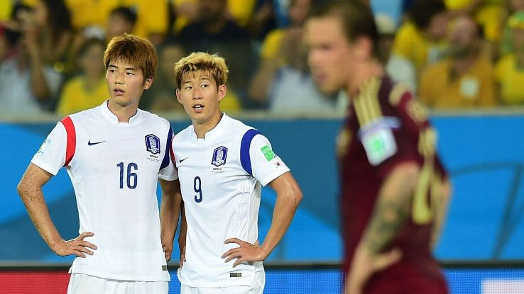 Son Heung-min and Ki Sung-Yeung