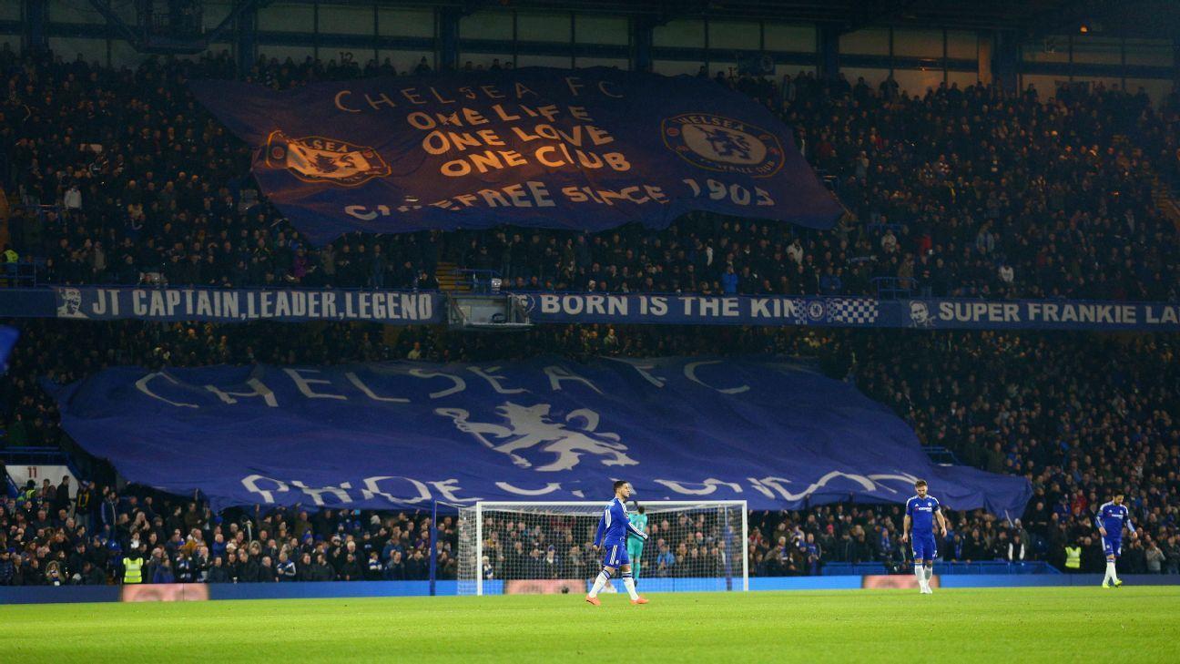 Chelsea tifo