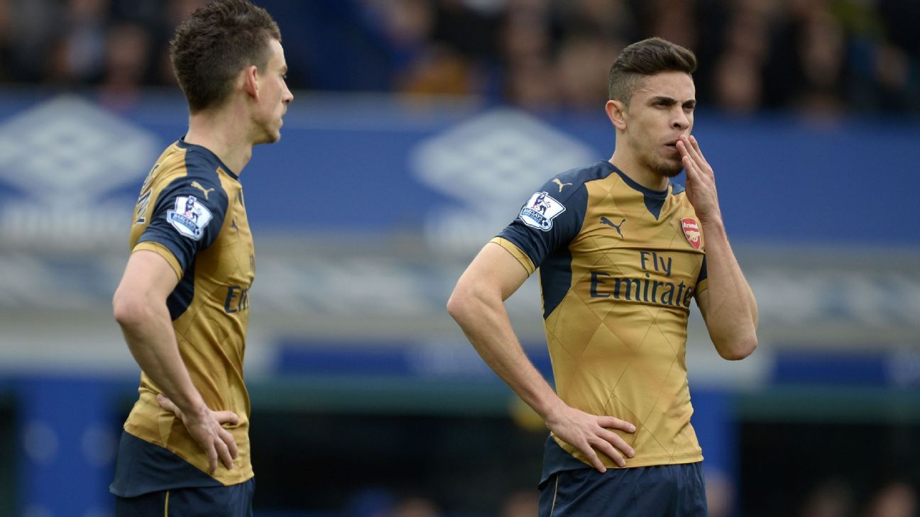 Laurent Koscielny and Gabriel Paulista