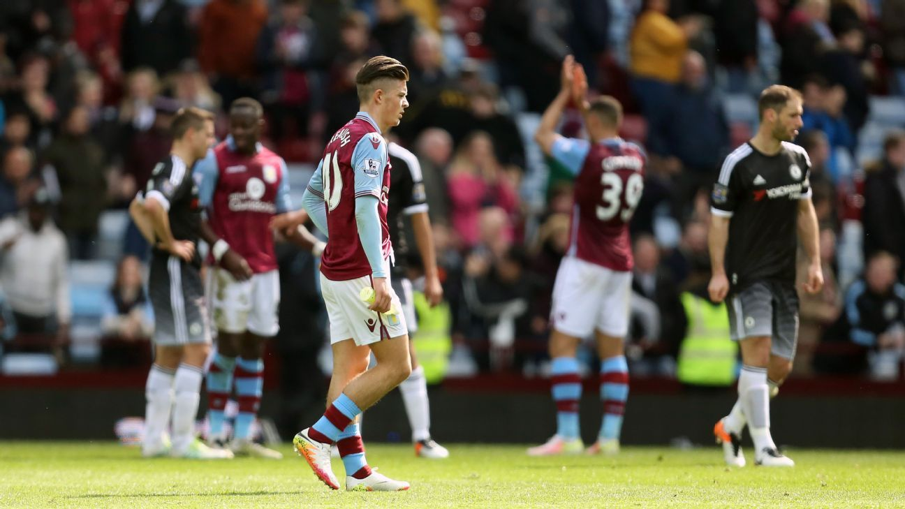 Jack Grealish dejected