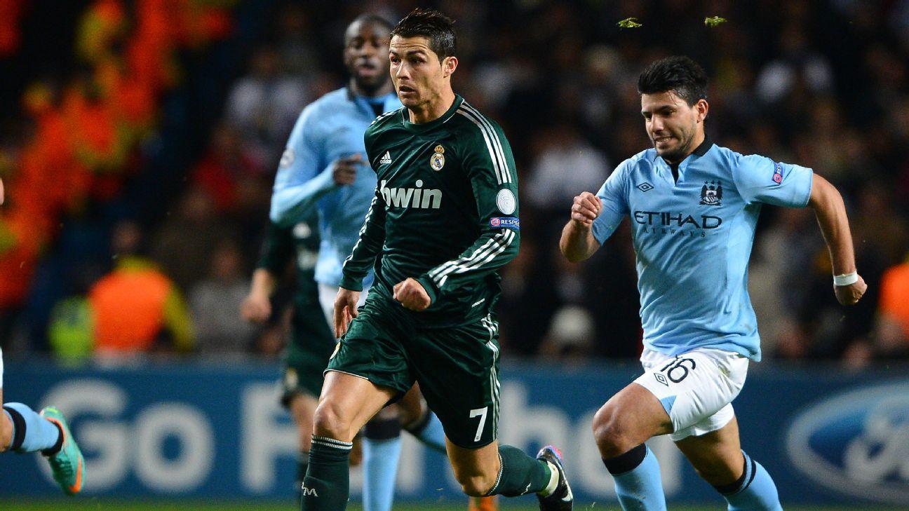 Ronaldo and Aguero