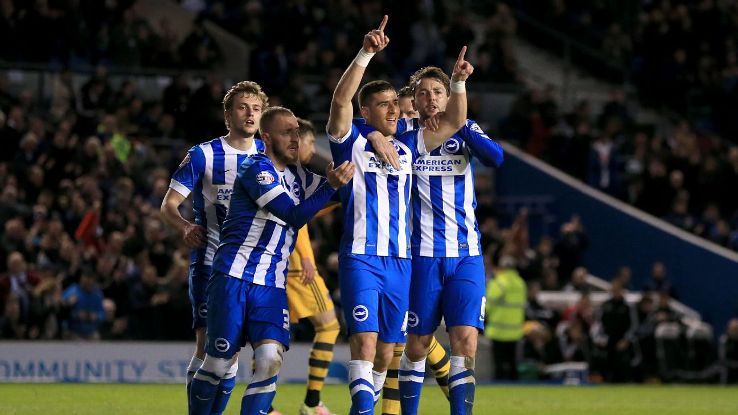 Brighton celeb vs Fulham 160415