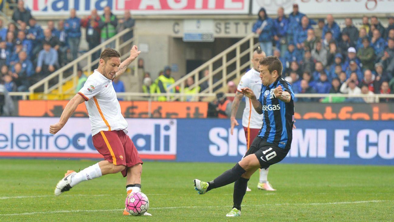Roma striker Francesco Totti