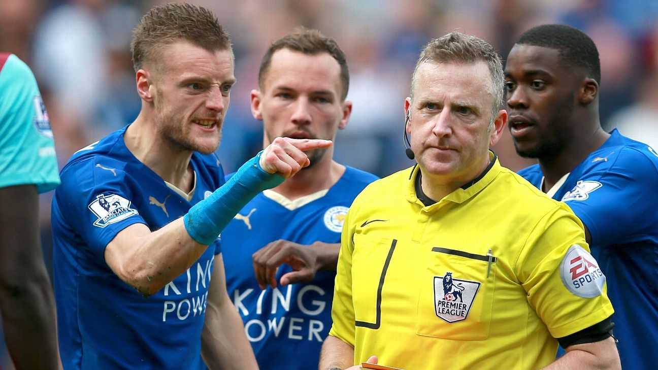 Vardy heads for Moss