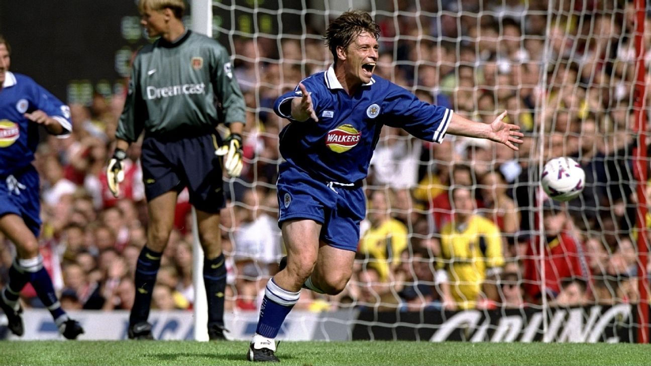 Former Leicester striker Tony Cottee