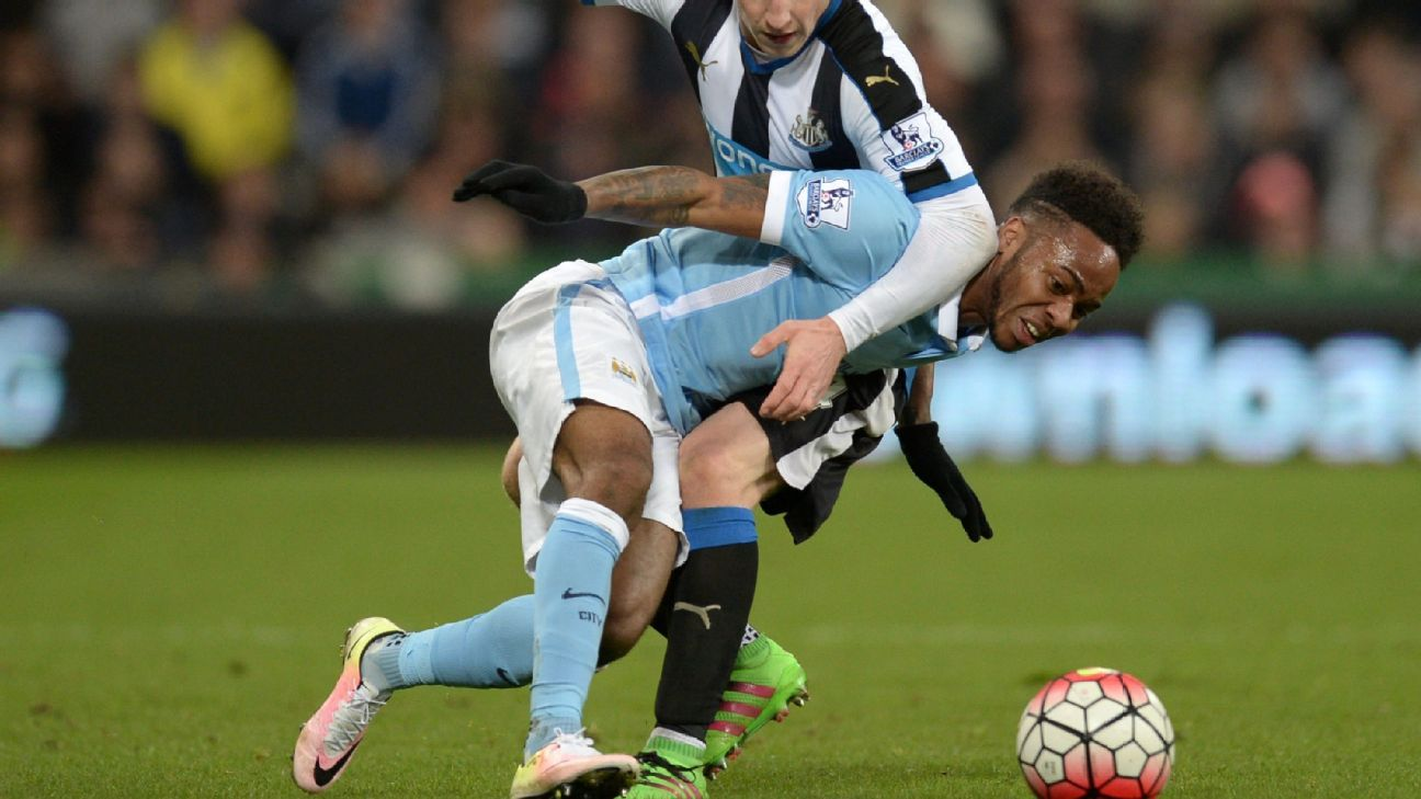 Raheem Sterling v Newcastle