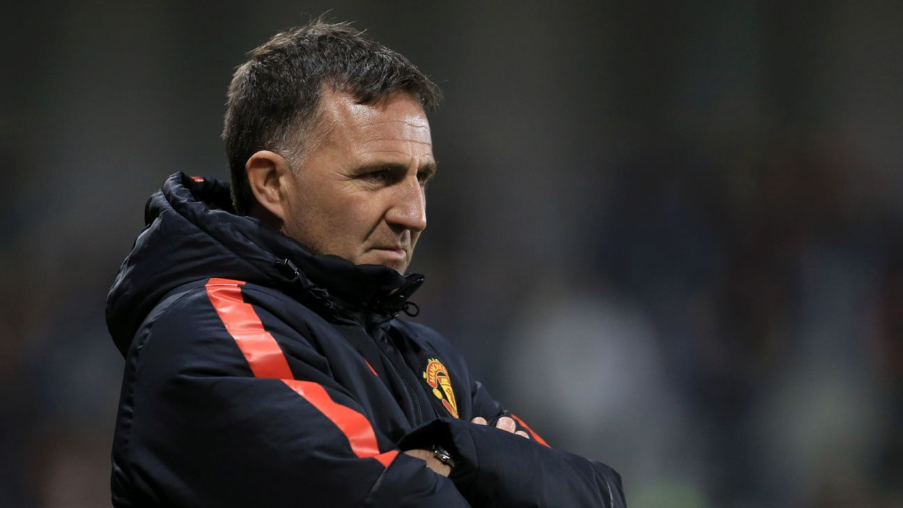 Warren Joyce Man United U21