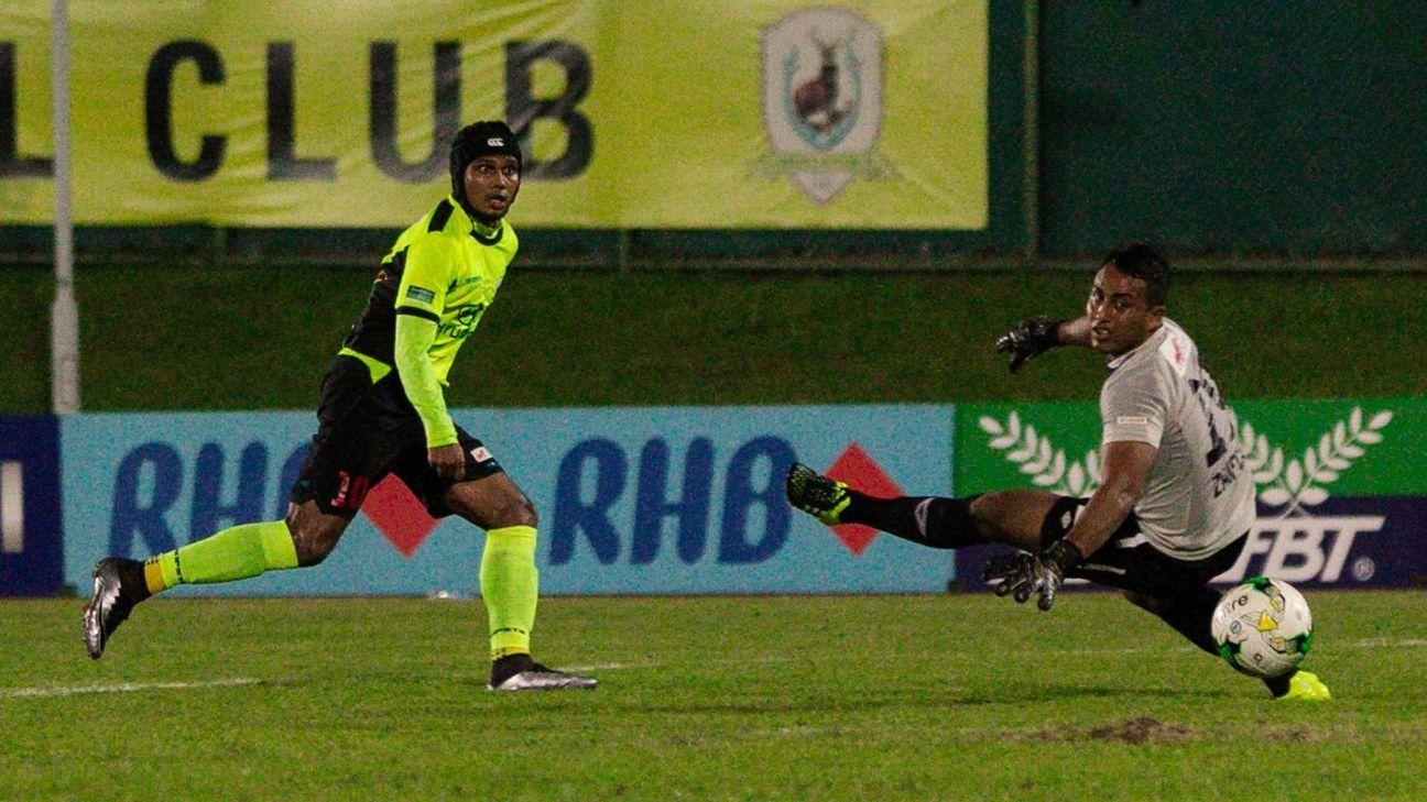 Tampines striker Fazrul Nawaz