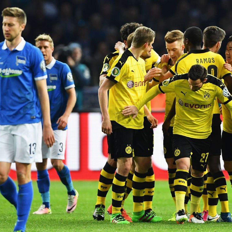 Liverpool 4 0 Borussia Dortmund Match Report Philippe: Borussia Dortmund Book DFB-Pokal Final Vs. Bayern Munich