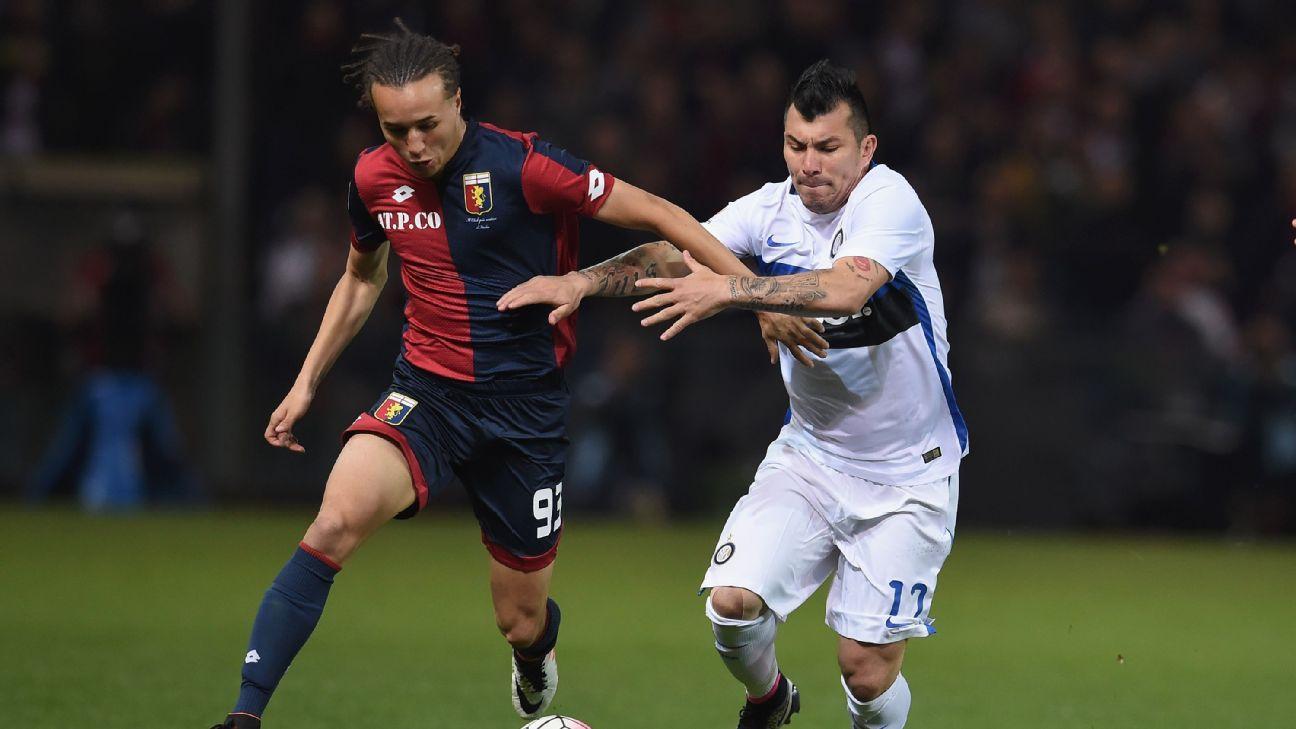 Medel vs Genoa 160420