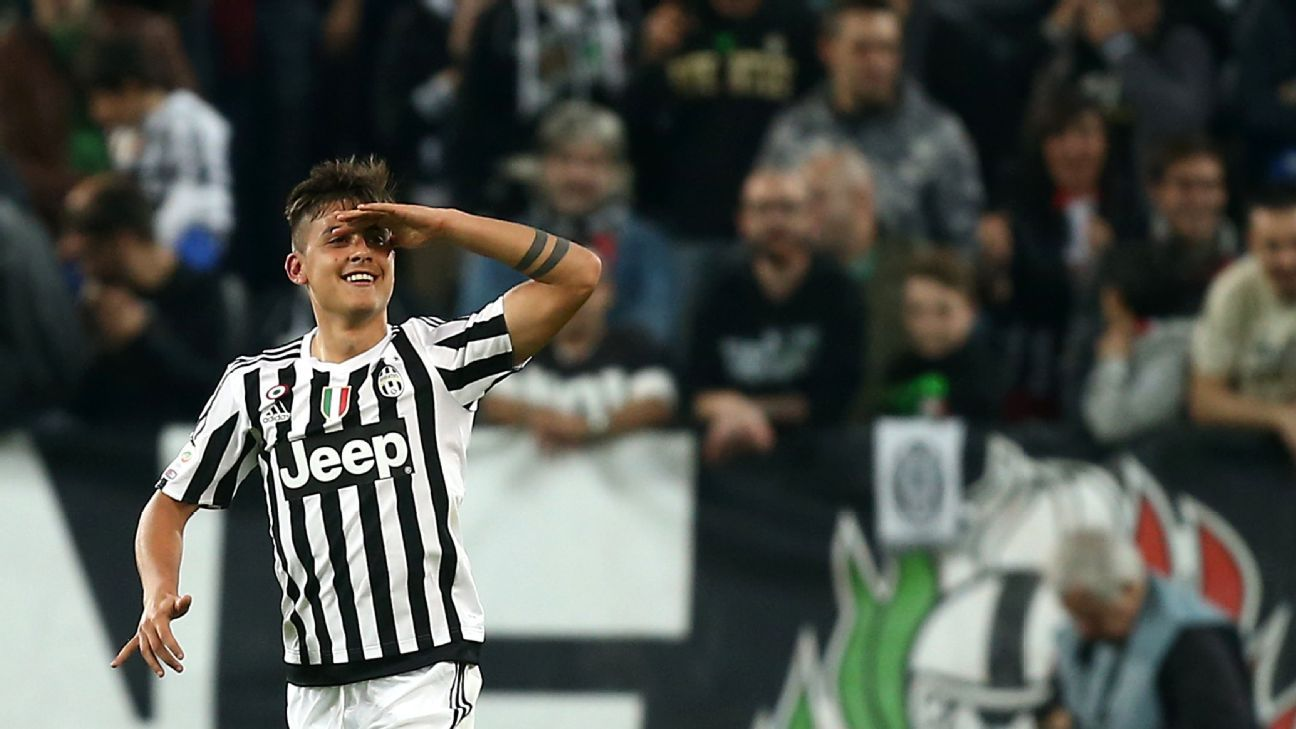 Juventus forward Paulo Dybala