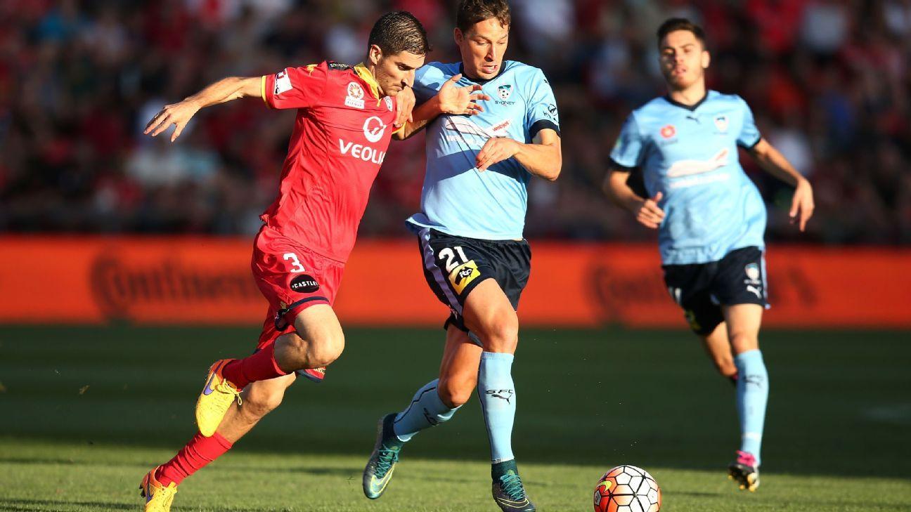 Iacopo La Rocca of Adelaide United