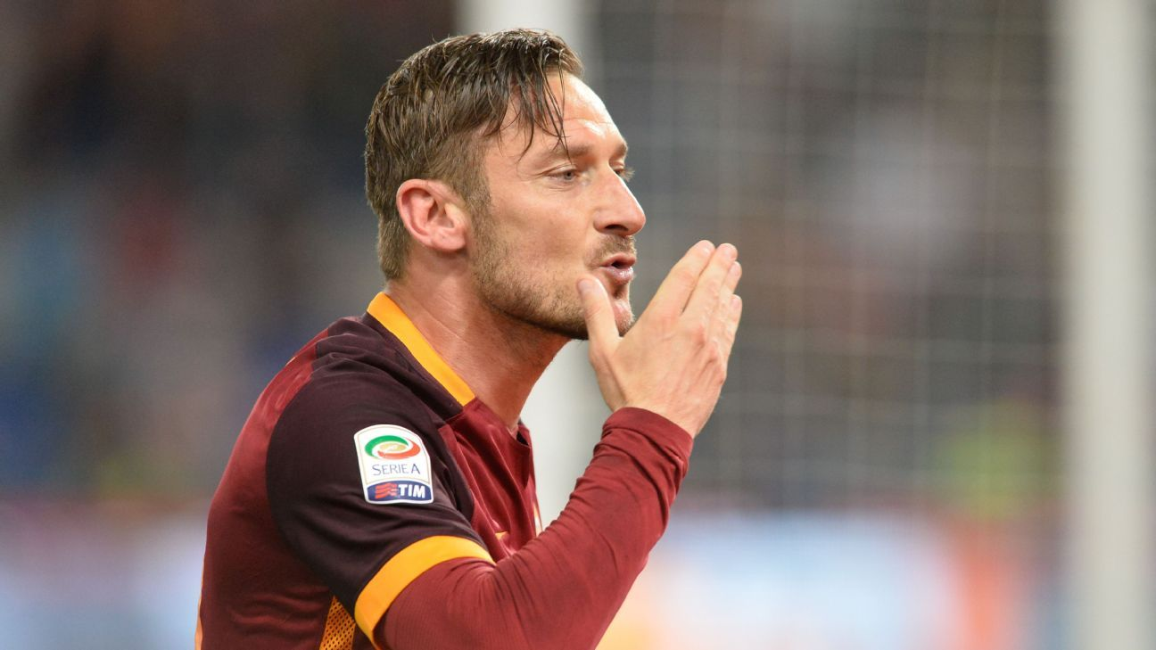 The ageless Totti has AS Roma threatening the top of the table, and playing an exciting brand of soccer.