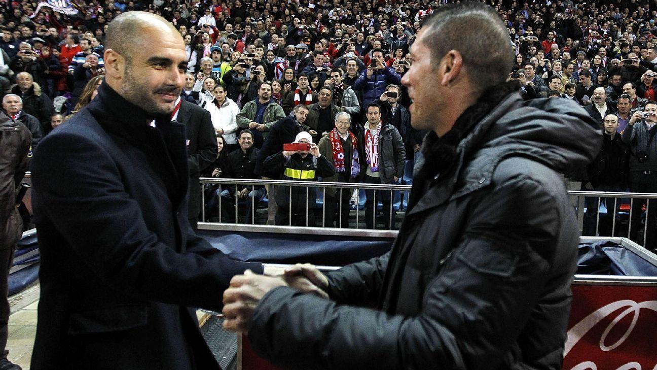 Guardiola vs Simeone