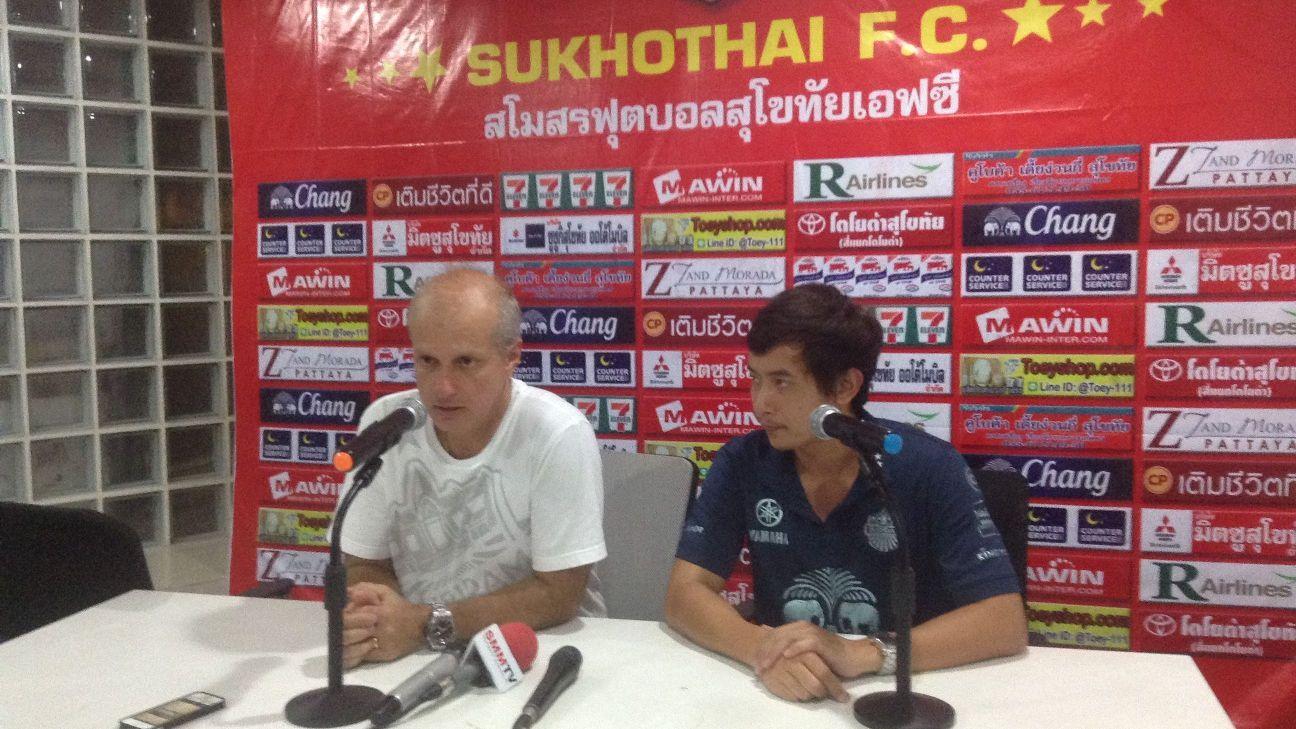 Buriram coach Alexandre Gama