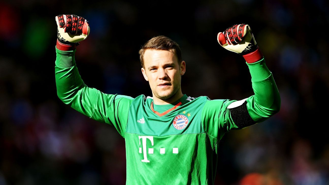 Bayern Munich s Manuel Neuer I m running at 100 percent again