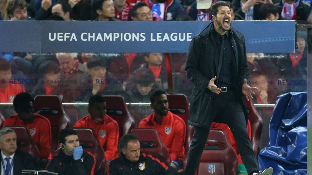 Atletico Madrid's Diego Simeone