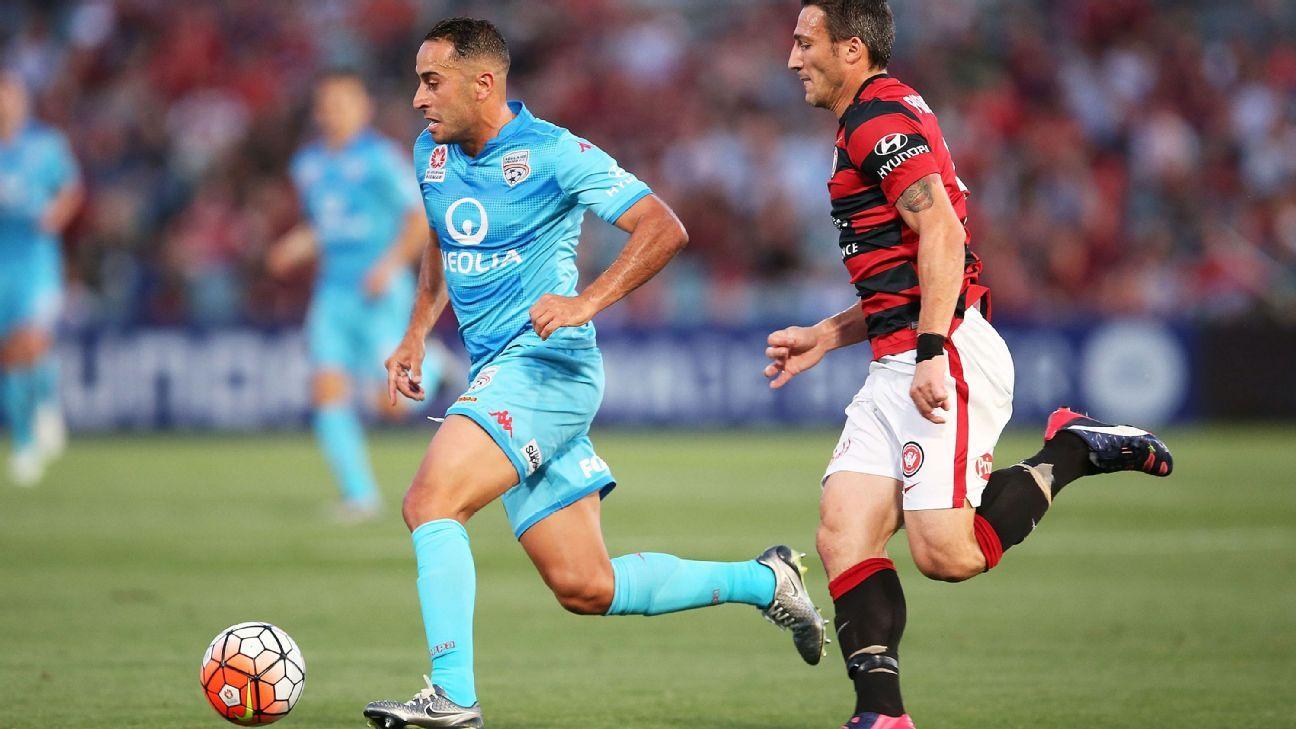 Adelaide United defender Tarek Elrich