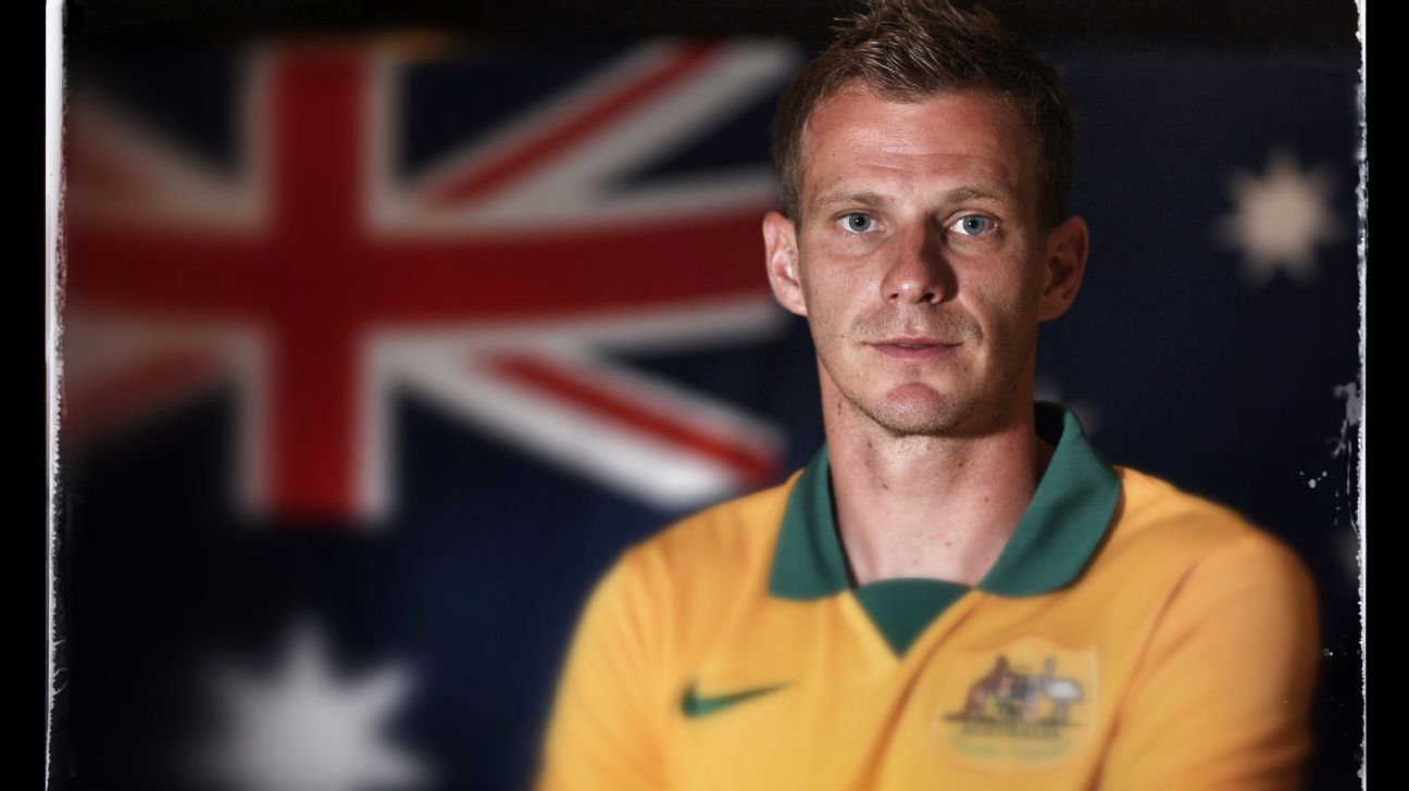 Australian defender Alex Wilkinson