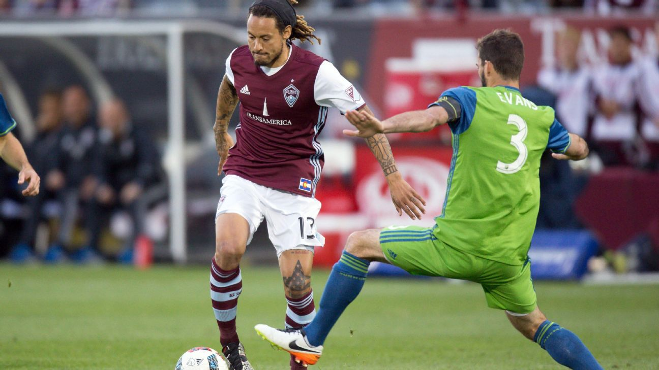 Jermaine Jones' red-hot play for the Rapids has boosted his national team stock.