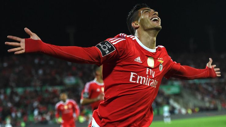 Raul Jimenez celebrates