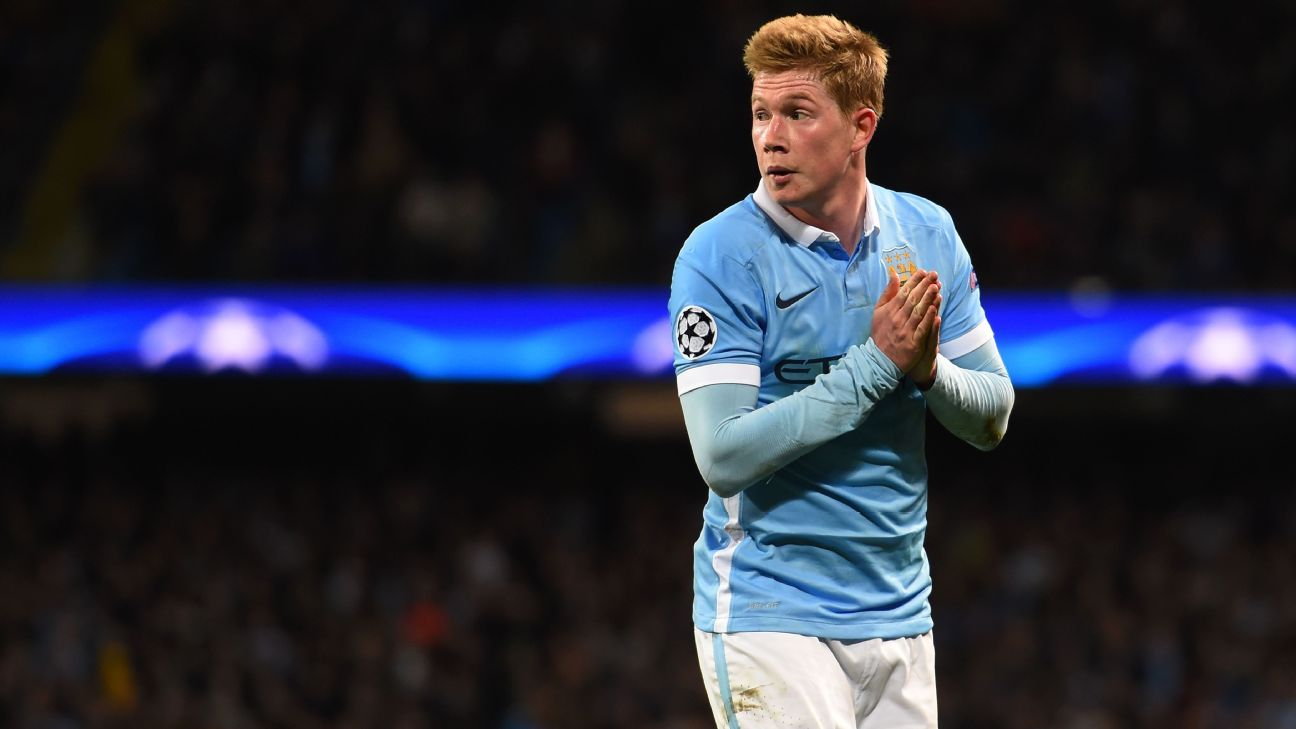Kevin De Bruyne vs Real Madrid