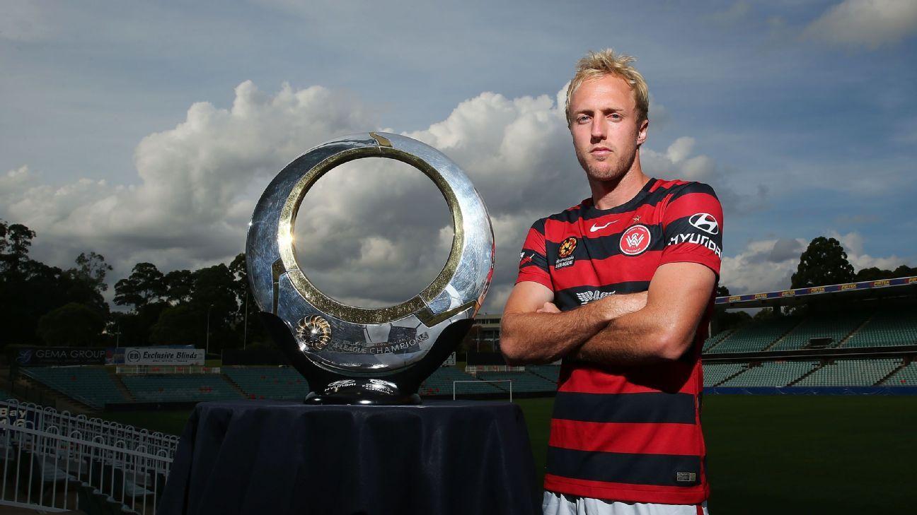 Western Sydney midfielder Mitch Nichols