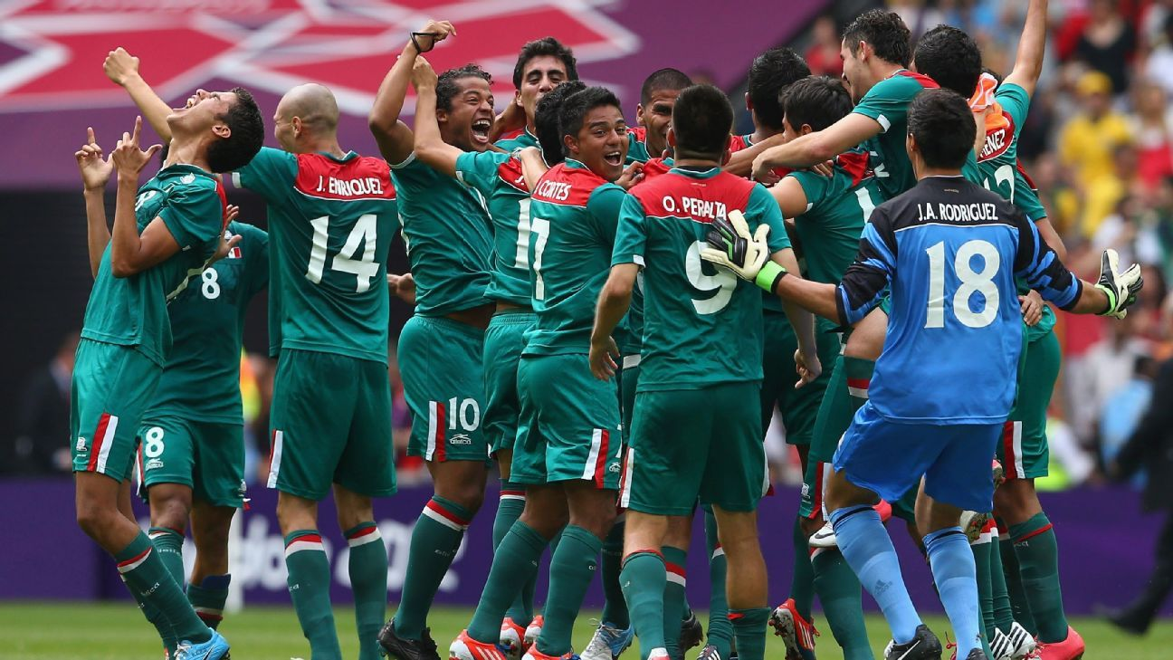 Mexico celebrate gold medal