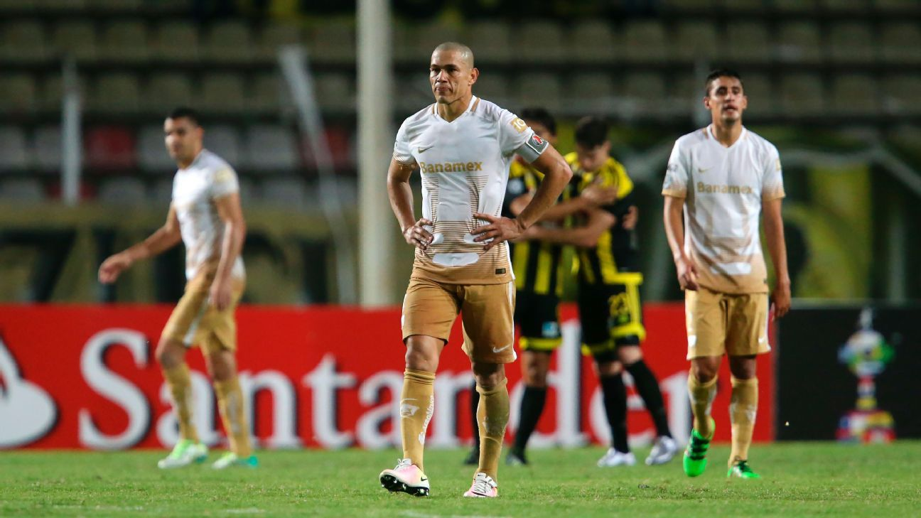 Pumas in Copa Lib