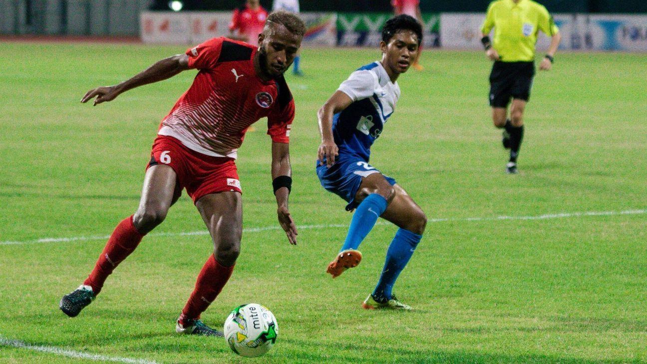 Home United defender Abdil Qaiyyim