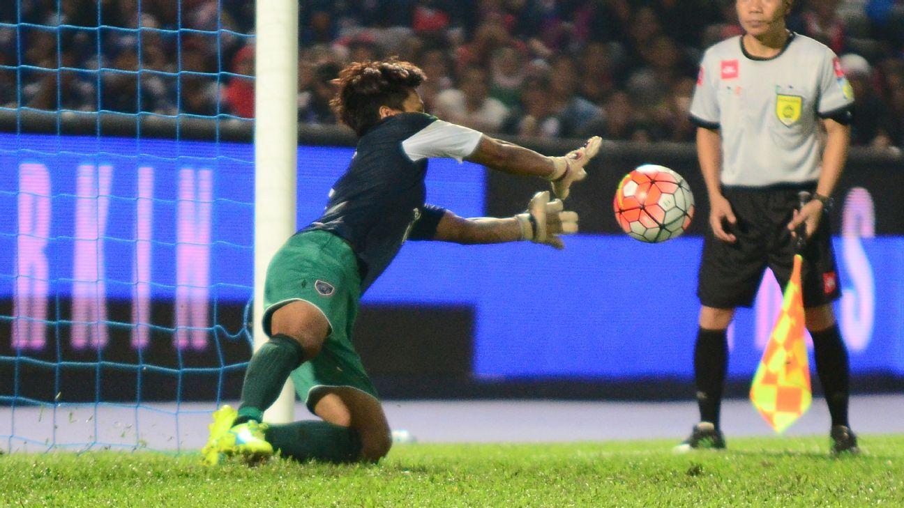 Johor Darul Ta'zim goalkeeper Farizal Marlias