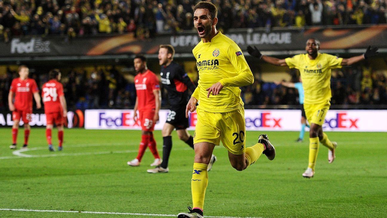 Villarreal celeb v Liverpool