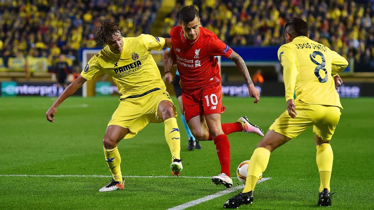 Philippe Coutinho v Villarreal