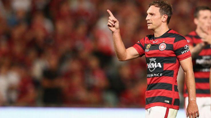 Western Sydney Wanderers midfielder Brendon Santalab