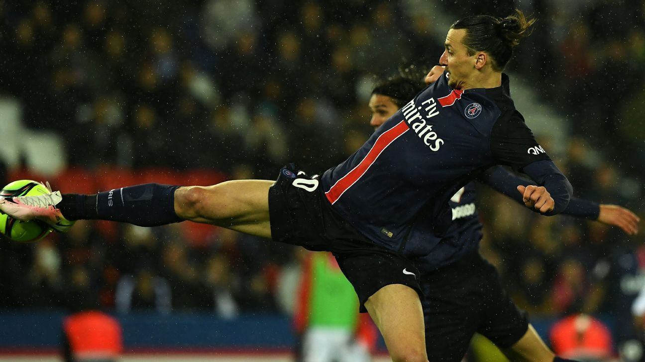 Ibra goal vs Rennes 160429